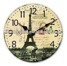 NEW Antique fashion mdf/wooden wall clock(IH-8318)
