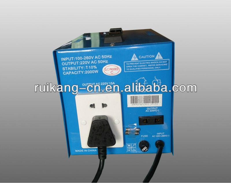 estabilizador de voltagem automática 5kw regulador de tensão de energia elétrica estabilizador 220v