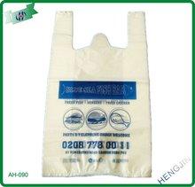 Multi-color good quality plastic t-shirt vest bag