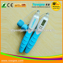 In 2012, the hottest of fashional design digital cordless jumping rope
