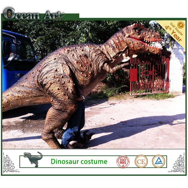 2014 dinosaurier-maskottchen kostüm