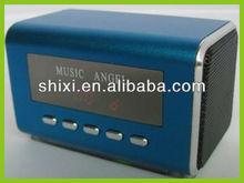 2012 Newest style portable Aluminum alloy mini speaker