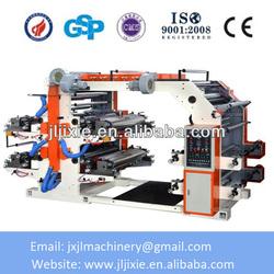 Plastic Film Four-color Flexographic Printing Machine