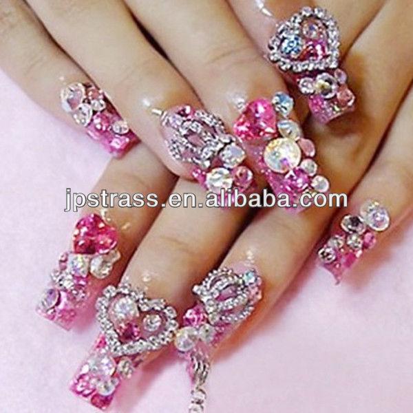 nail arts crystal > nail art glitter stones ,nail art rhinestone non