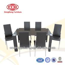 black wood dining room furniture