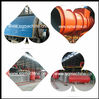 horizontal used plastic pyrolysis plant with capacity 10MT/D