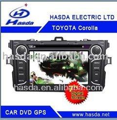 Toyota Corolla car GPS bluetooth FM/AM radio RCA AUX IN DVD PLAYER