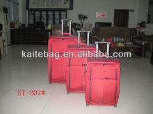 2012 red fashionable soft eva trolley bag