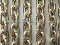 Alta intensidade de aço galvanizado 80 grau cadeia, corrente de aço link, corrente de aço endurecido