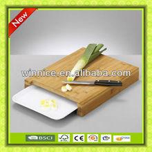2013 new kitchen bamboo cheese board plastic mat bamboo cutting board