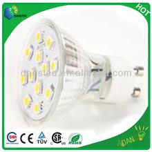 5050 smd spot light gu10 C-tick CSA UL TUV CE approved