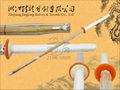Épée samouraï en bois japonaise traditionnelle avec le tsuba en bambou JL104 de lame et de plastique