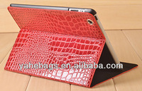tablet universal case crocodile pu leather case for iPad
