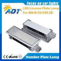 High Quality LED Licence Plate Light With Standard Bracket for E53(X5), E39, Z8 (E52),car led tail light