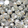 2mm SS-6 icey Crystal 16 facets cut hotfix acrylic rhinestone