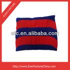 100% Acrylic Stripe Design Knitted Neck Warmer
