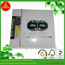 Wax paper box packaging,carton box