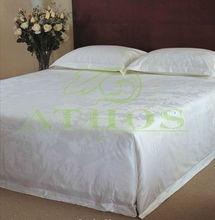 popular pure combed cotton hotel bedding linen set