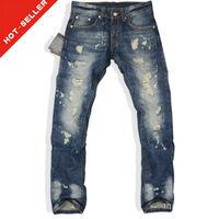 (#TG337M) 2015 men fashion clothing wrinkle damaged d jeans brands