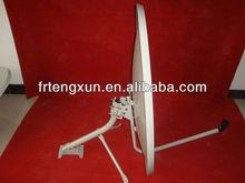 KU band steel dish 90 wall and mount