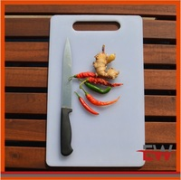 2014 hotest style cutting board ,plastic cutting board,pp cuttiing board