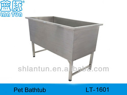 Salon Helper Dog Bathtub with stainless steel material