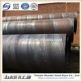 tubo de acero de espiral soldada