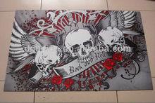 Printed fashional anti slip enviromental floor mat