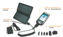 2012 new portable solar power system with phone charger