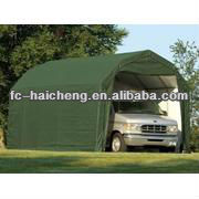 Heavy duty flame retardant poly tarp for portable garage.portable garage material.