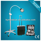LED medical examination light with wheelbase