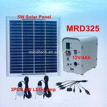 best selling solar dc lighting kit to Guatemala market shenzhen factory