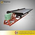 de tungsteno de la minería de mineral de agitación concentrador de mesa