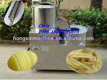 stainless steel potato chips cutting machine/ potato peeler and slicer /potato peeler and cutter
