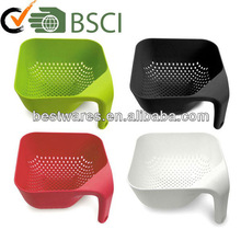 Wholesale kitchen plastic melamine multicolor colander