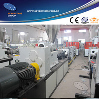 PVC pipe extruding machine