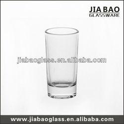 Clear shot glass, vodka glass, highball shot glass