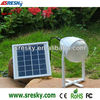 Outdoor Portable solar power system with phone charger