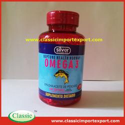 GMP Certified Omega 3 Salmon Fish Oil Softgels in Bulk