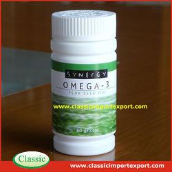 GMP Certified Halal Omega 3 Fish Oil Softgels in Bulk