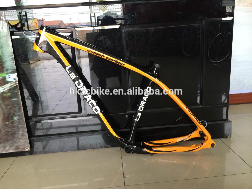 Date de haute qualité entièrement en carbone cadre de vélo de montagne, Queue dur vélo de carbone vtt cadre, 29er de carbone cadre vtt