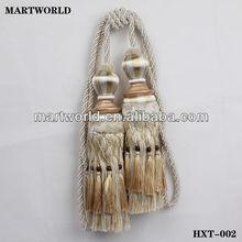 fashional tassel tieback for drapery (HXT-002)