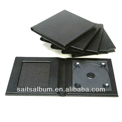 dvd case with cameo cd folio leather wedding dvd box