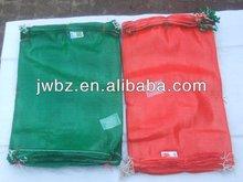 orange plastic bags&orange leno mesh plastic bag,potato bags for sale