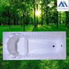 cheap acrylic Bathtub / small and clear bathtub for sale with 1200mm/1400mm/1500mm size