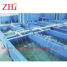 FRP rectangular fish tanks blue for sale