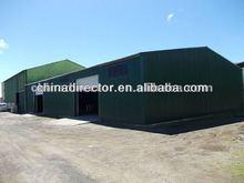Hot dip galvanized light steel structure qingdao factory