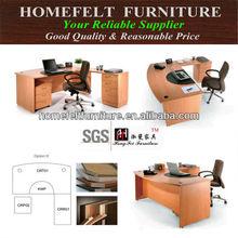 Hot sale simple commercial melamine Office desk (CR-D)