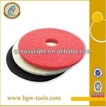 Macromolecule flexibility pad (Nylon polishing bricks ) 100mm dry grinding pad