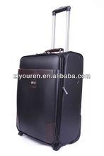 PU trolley luggage case/ the fashionable PU trolley luggage